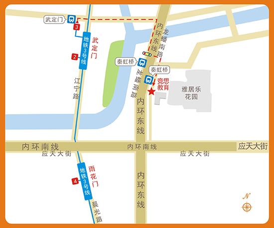 竞思<a href=/zyl/513.html target=_blank class=infotextkey>南京</a>雨花台中心路线及联系方式
